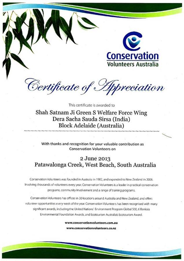 environment conservation 2 june 2013