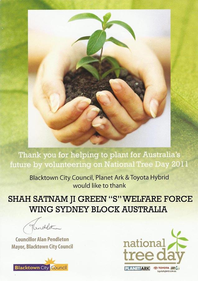 tree plantation certificate australia
