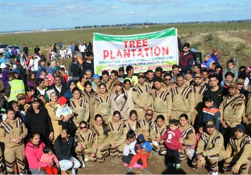 Shah Satnam Ji Green S Welfare Force Wing Volunteers Australia Tree Planation